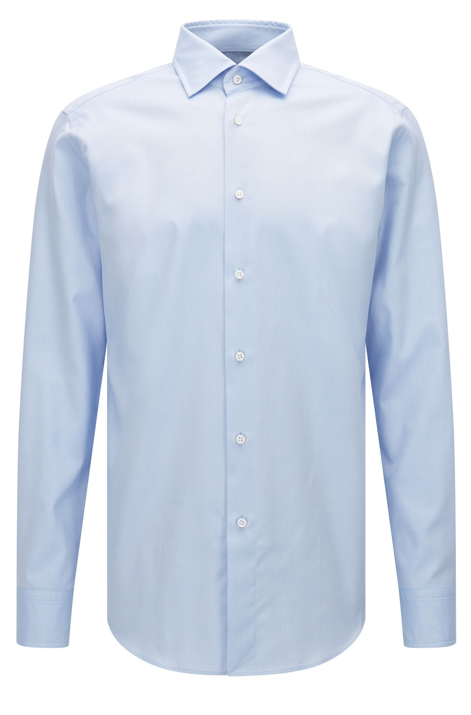 Regular-fit shirt in superfine Royal Oxford cotton