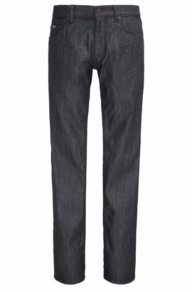 Regular-Fit Jeans aus komfortablem Stretch-Denim, Dunkelblau