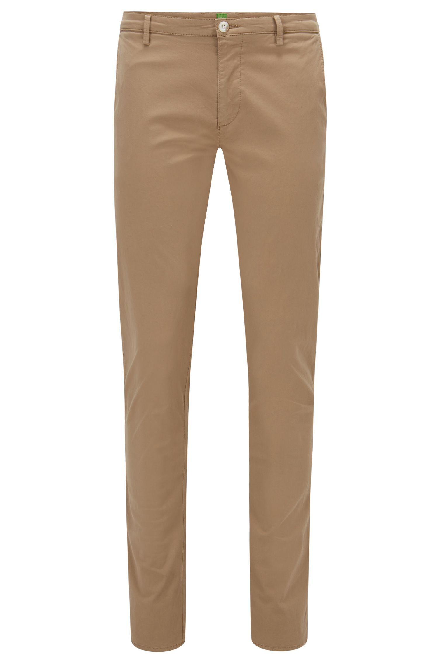Slim-Fit Hose aus elastischer Pima-Baumwolle