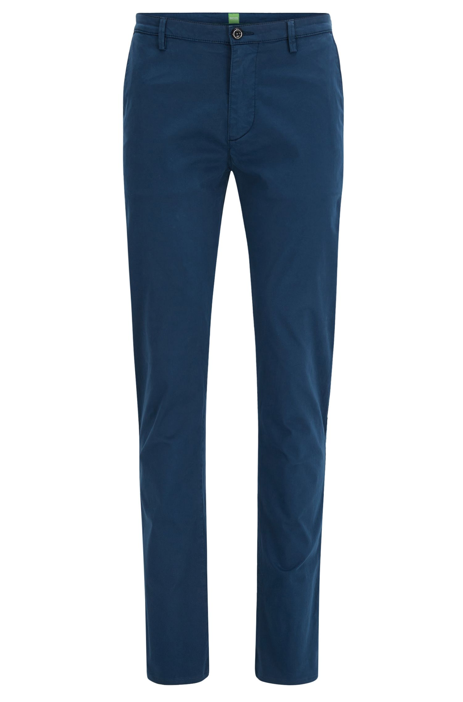 Pantalon Slim Fit en coton Pima stretch