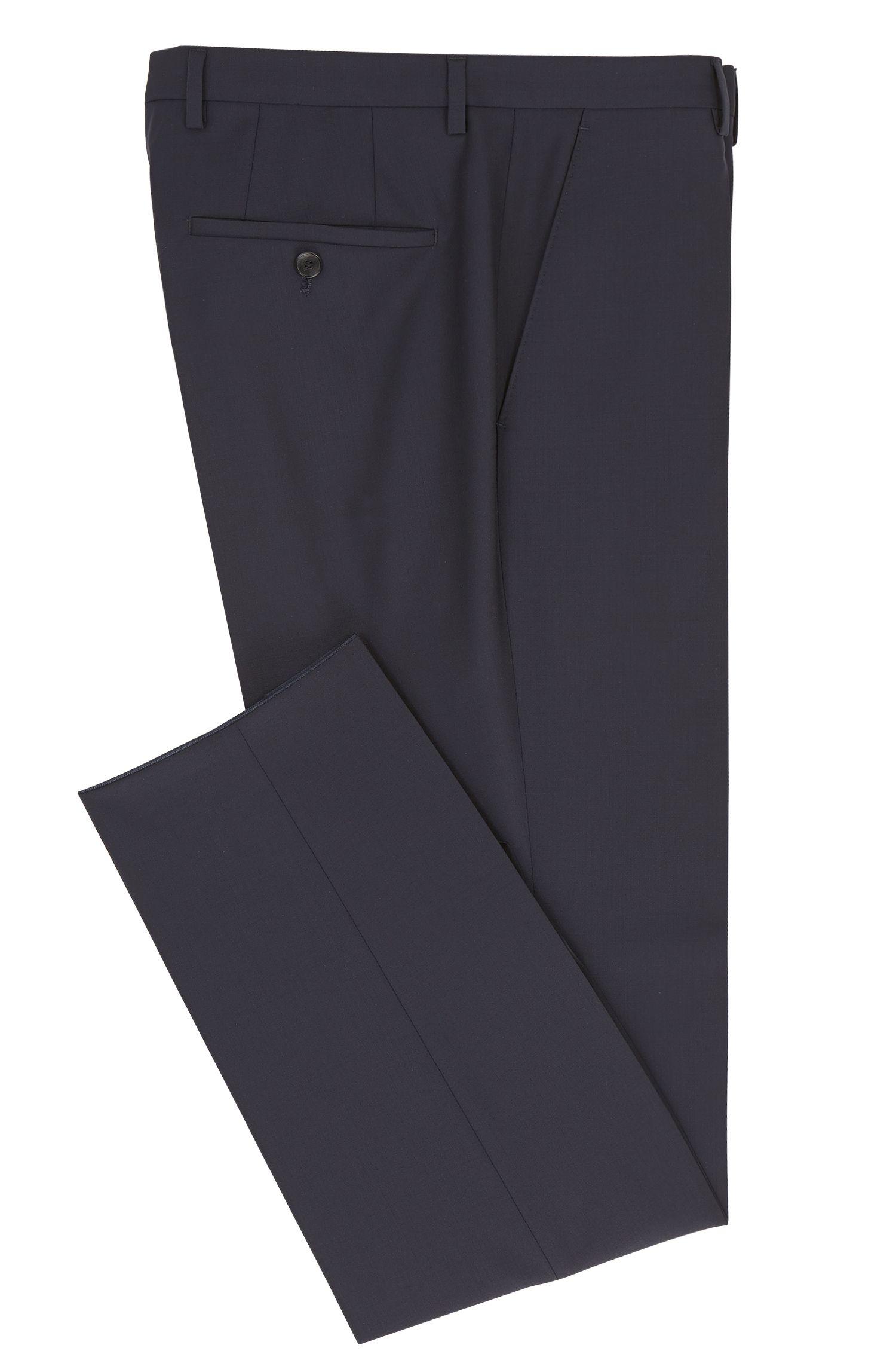 Pantalon en laine Regular Fit à teneur en cachemire