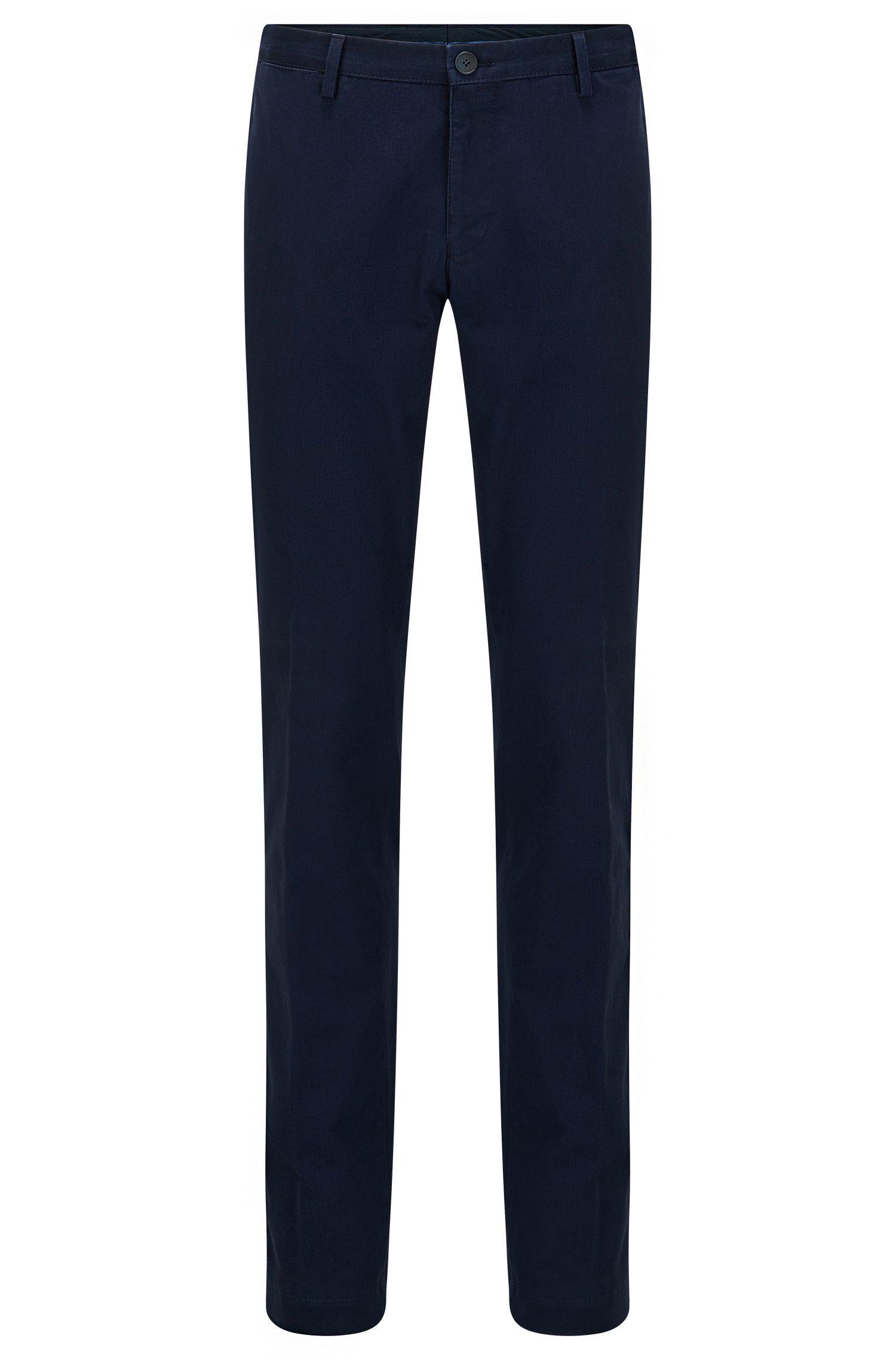 Slim-Fit Chino aus gewaschener Stretch-Baumwolle