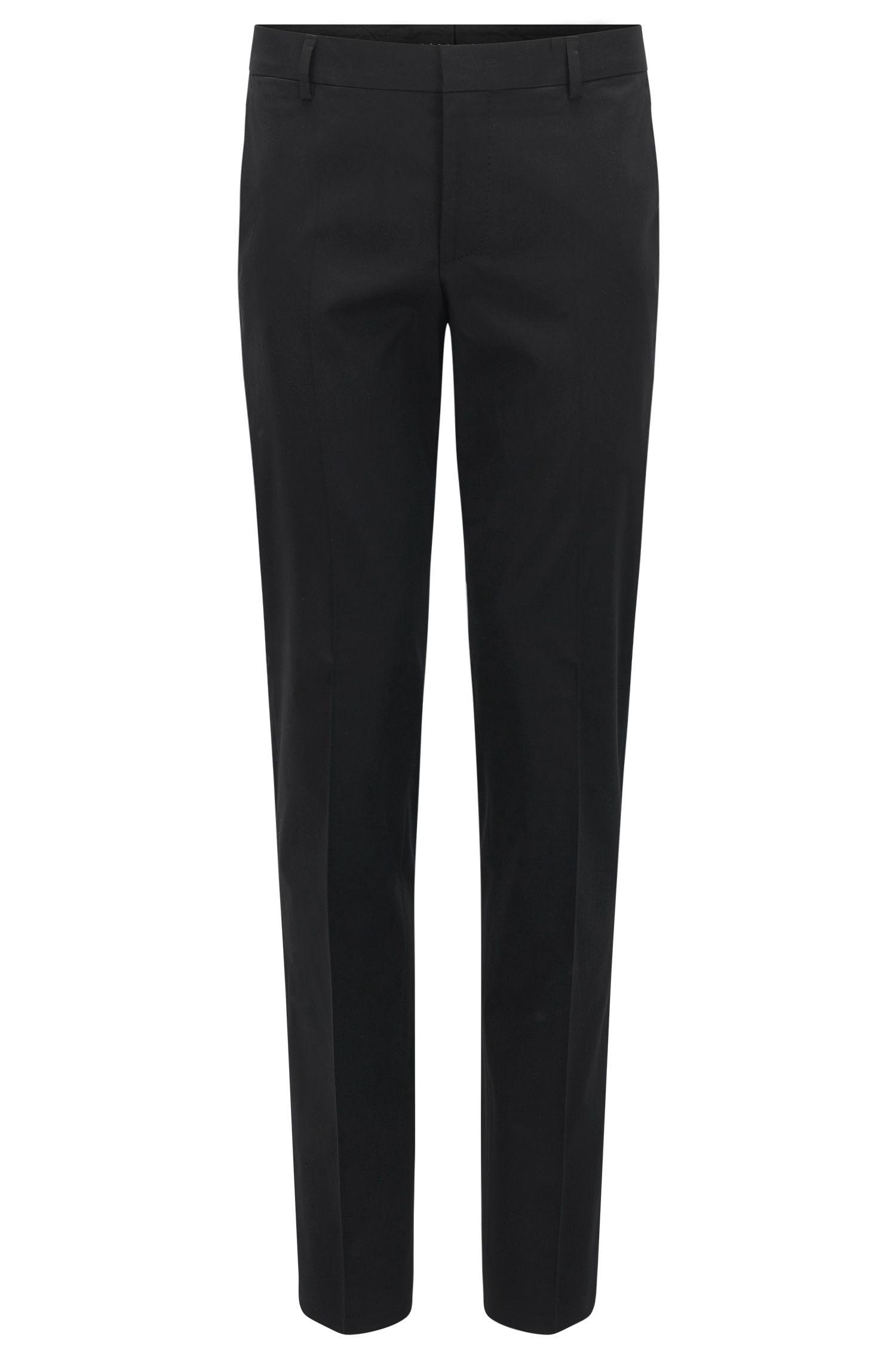 Slim-Fit Hose aus Baumwolle mit Elasthan-Anteil