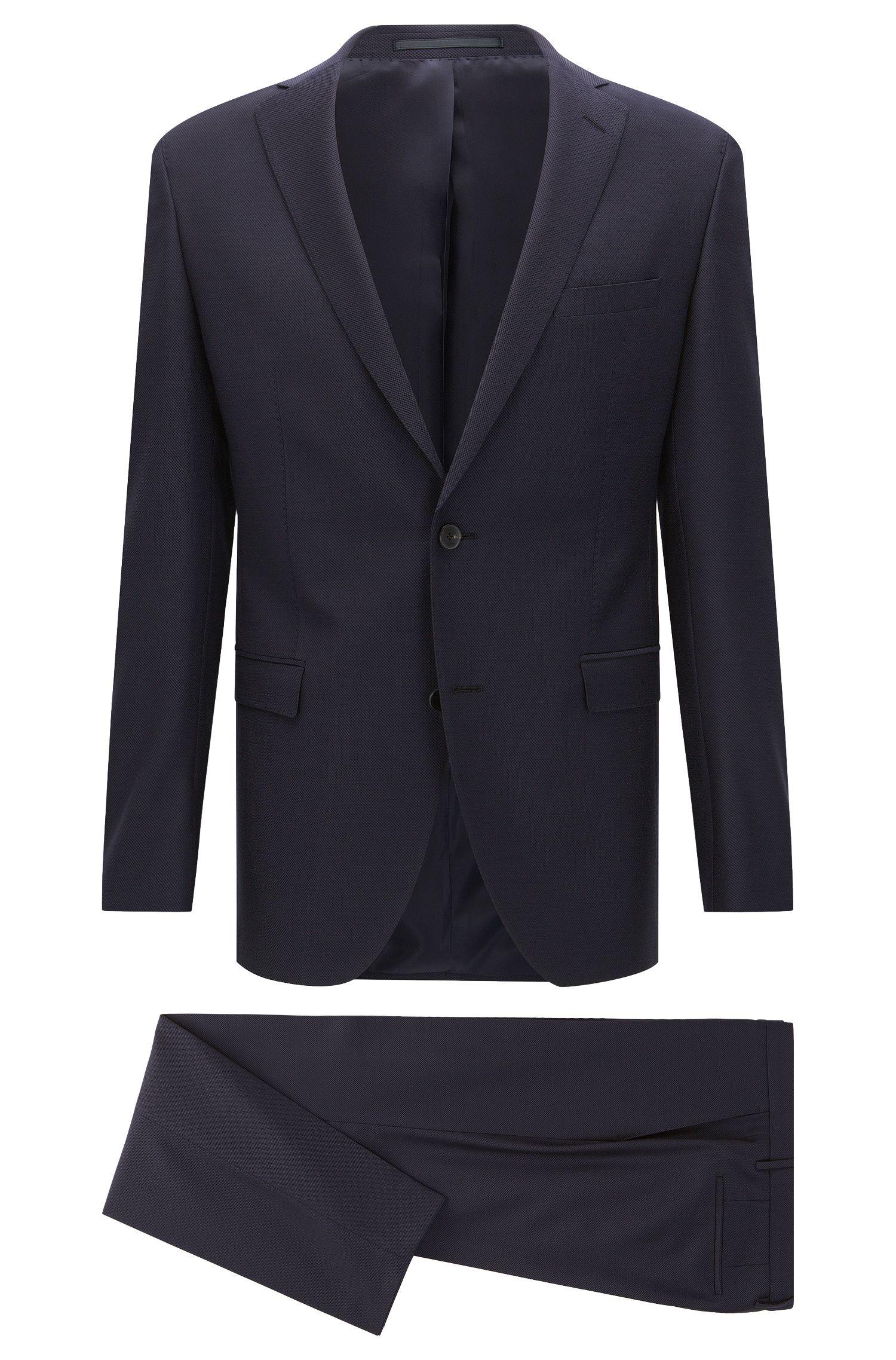 Extra Slim-Fit Anzug aus reiner Schurwolle