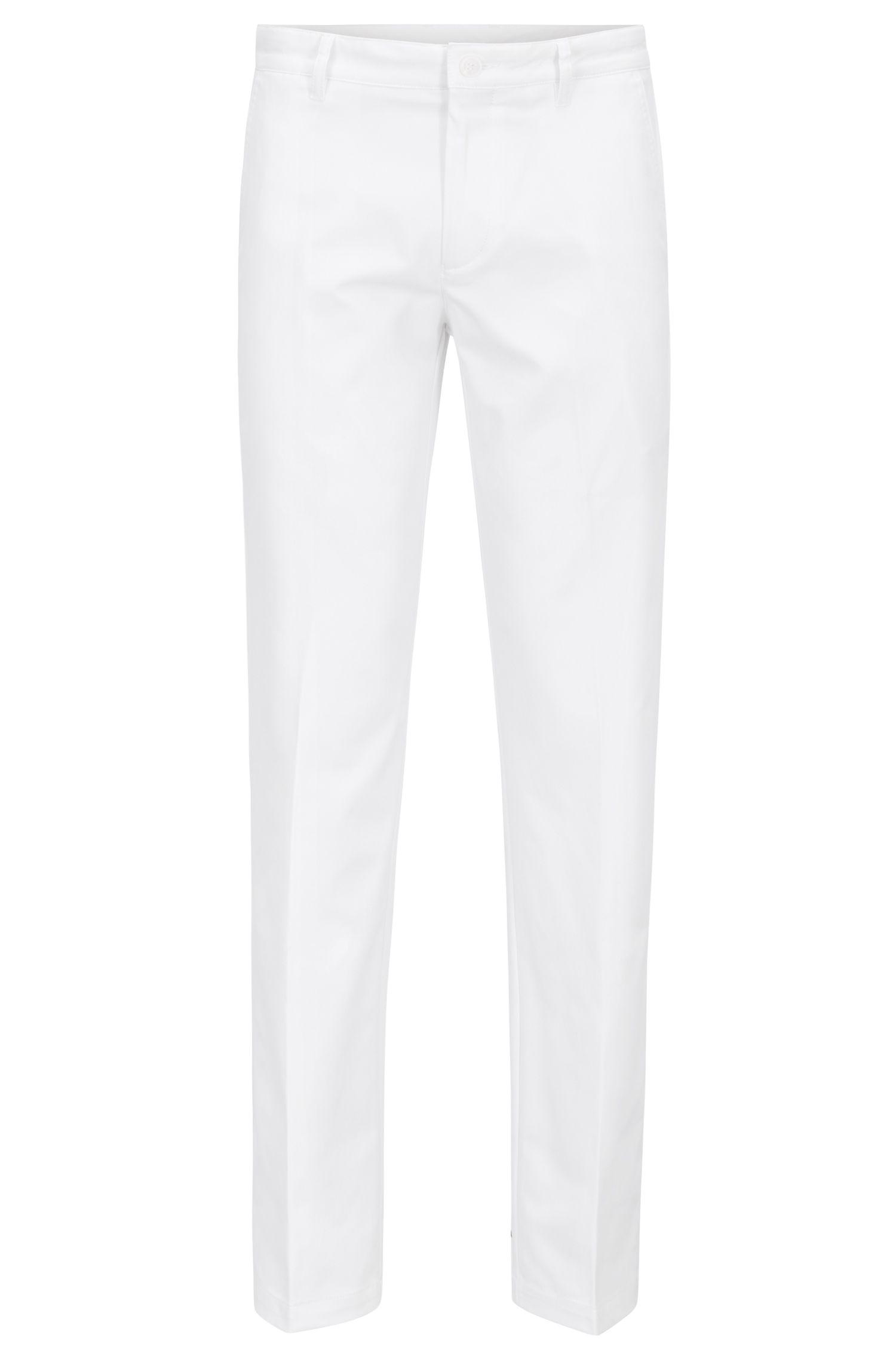 Pantalon de golf Slim Fit en twill technique