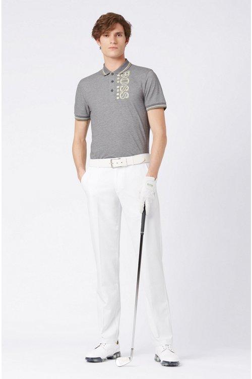 Hugo Boss - Pantalón slim fit de golf en sarga técnica - 2