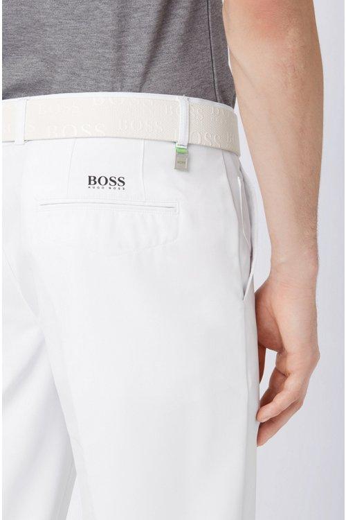 Hugo Boss - Pantalón slim fit de golf en sarga técnica - 5