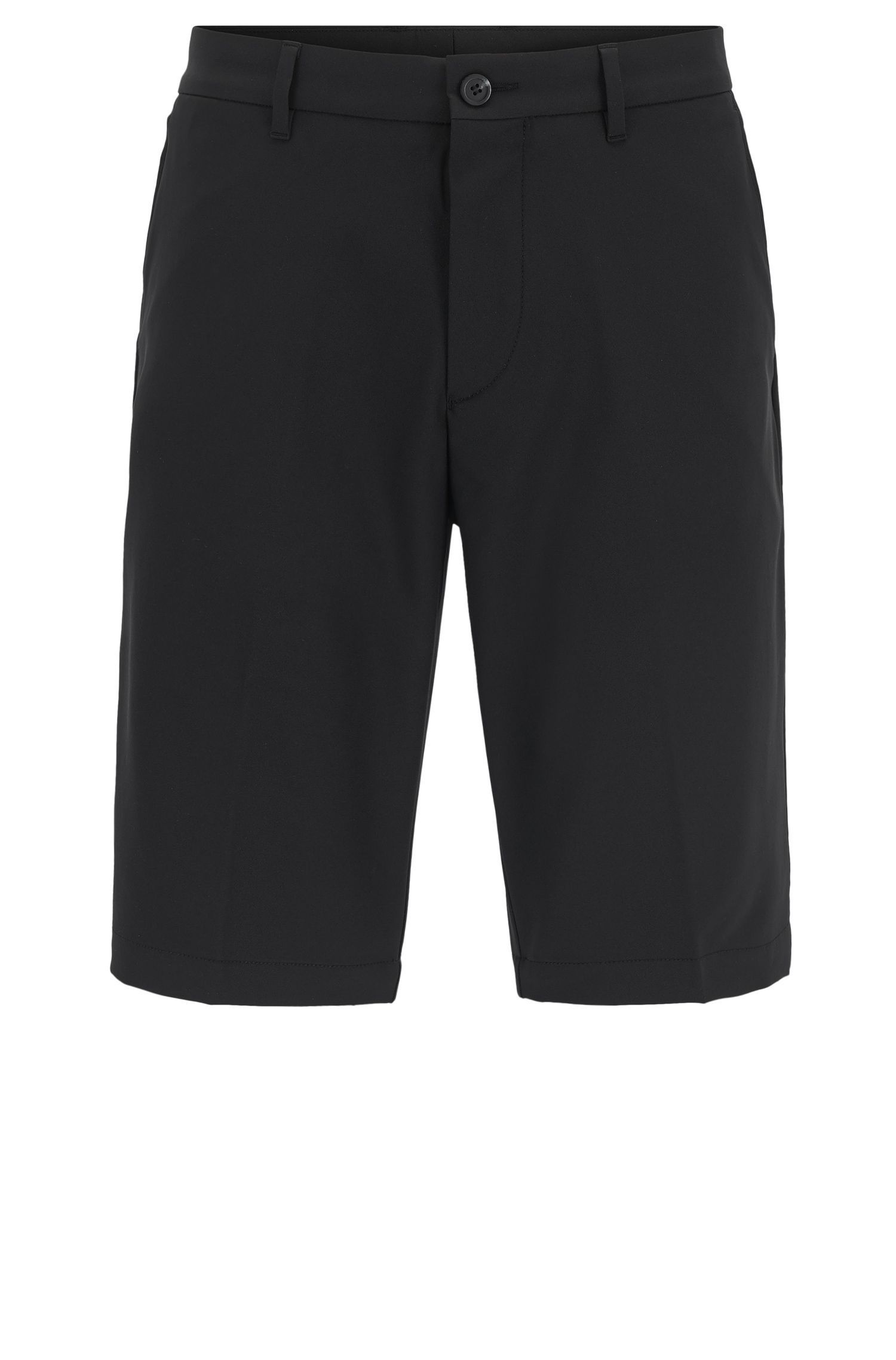 Short de golf Regular Fit en twill technique