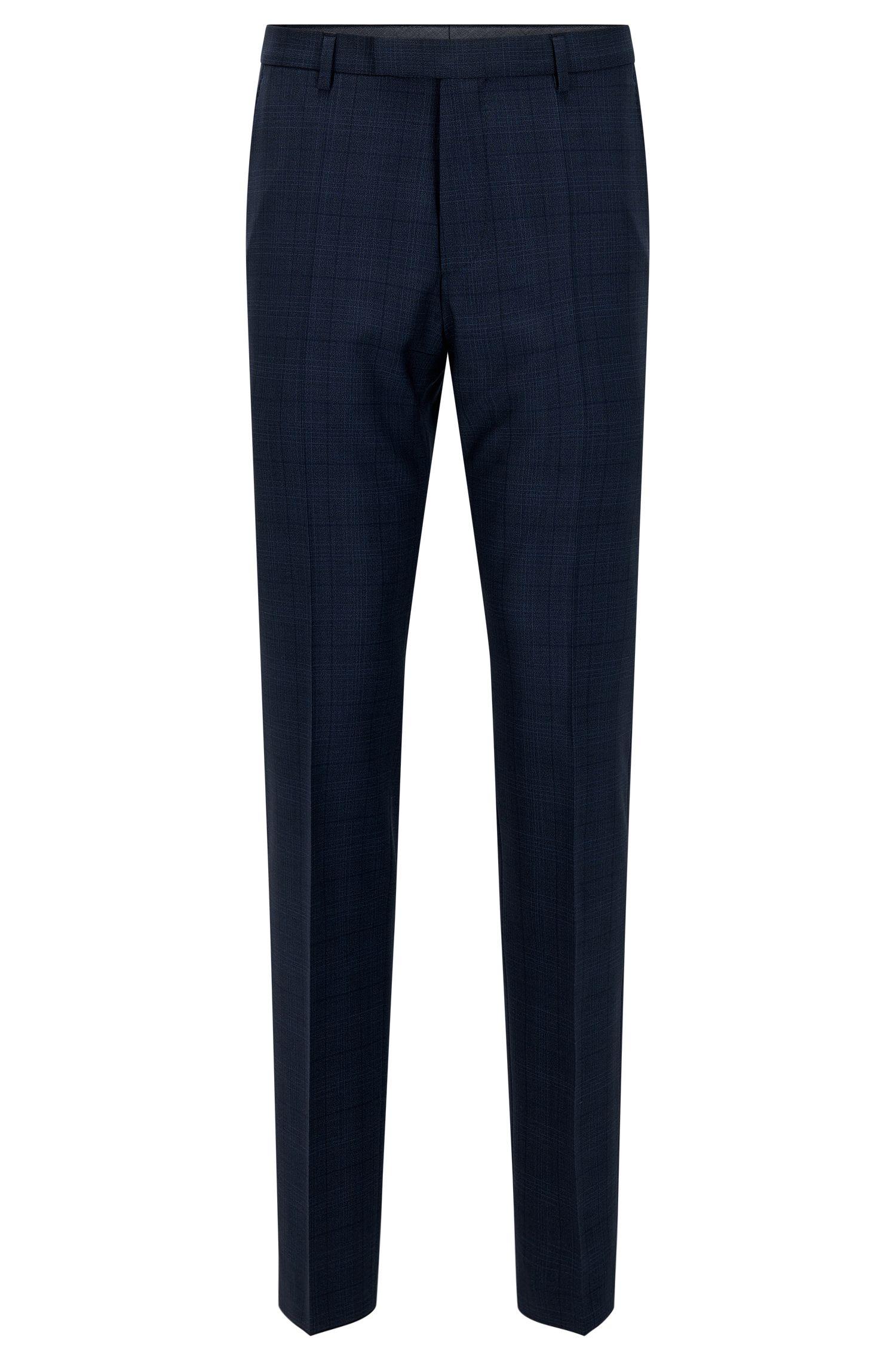 Pantalon Regular Fit en laine vierge