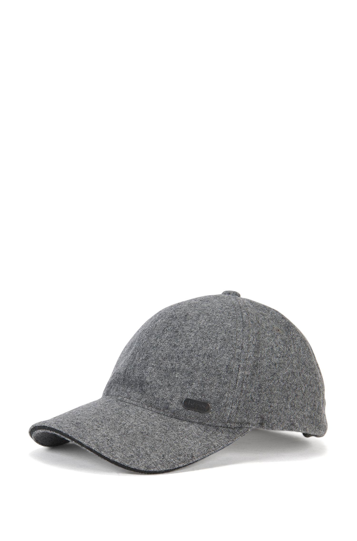 Baseball Cap aus elastischem Woll-Mix