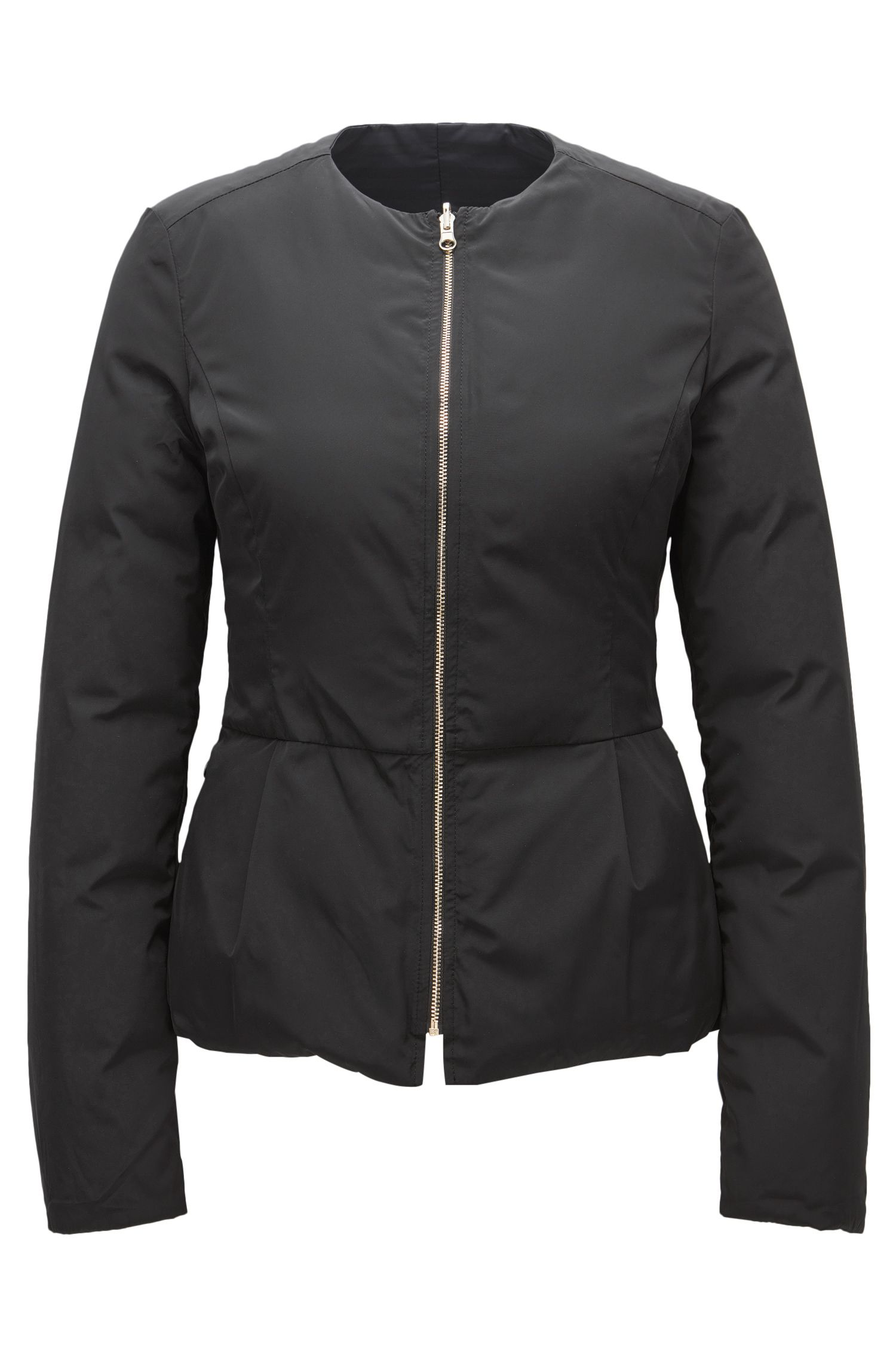 Water-repellent jacket in a regular fit