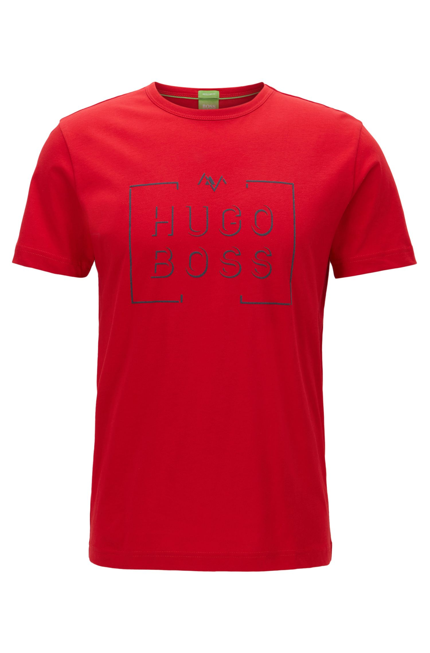 Regular-Fit T-Shirt aus Single-Jersey