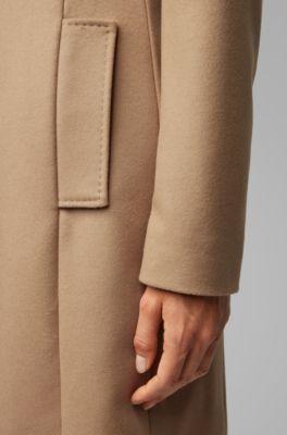 Cashmere E Regular Fit Lana In Cappotto BCredox