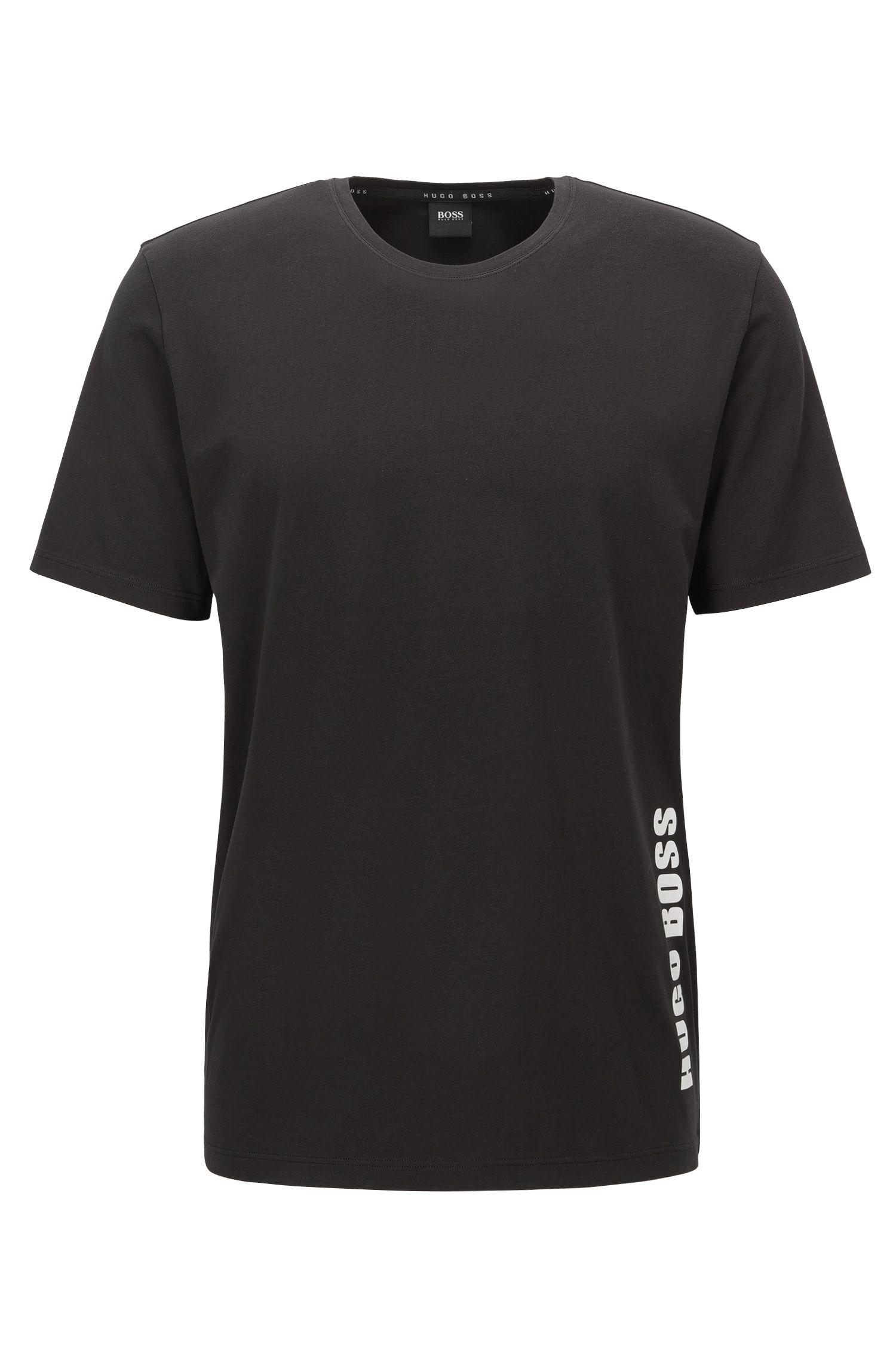 Regular-fit pyjama T-shirt in single jersey