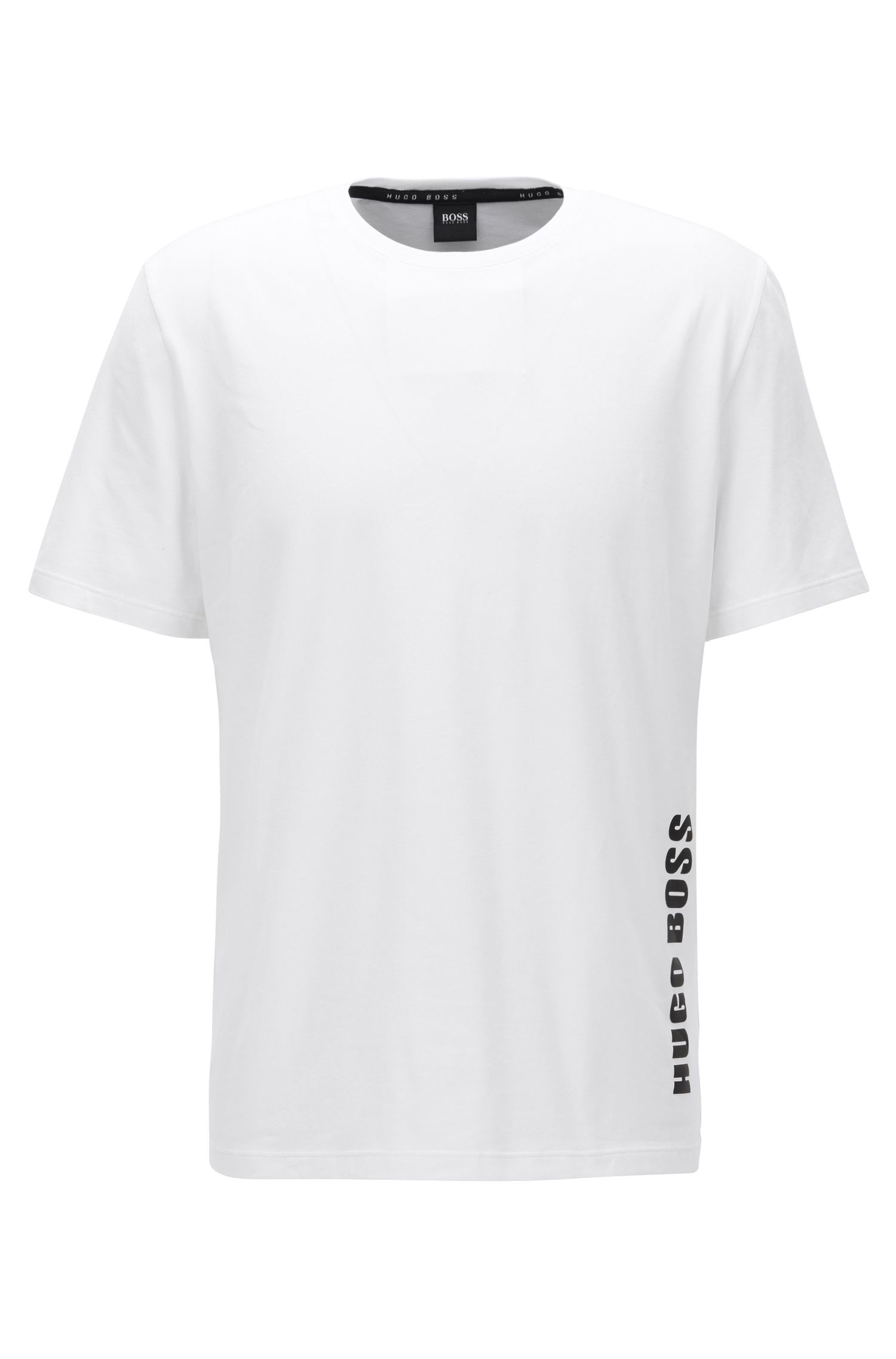 Regular-fit pyjama-T-shirt van single jersey