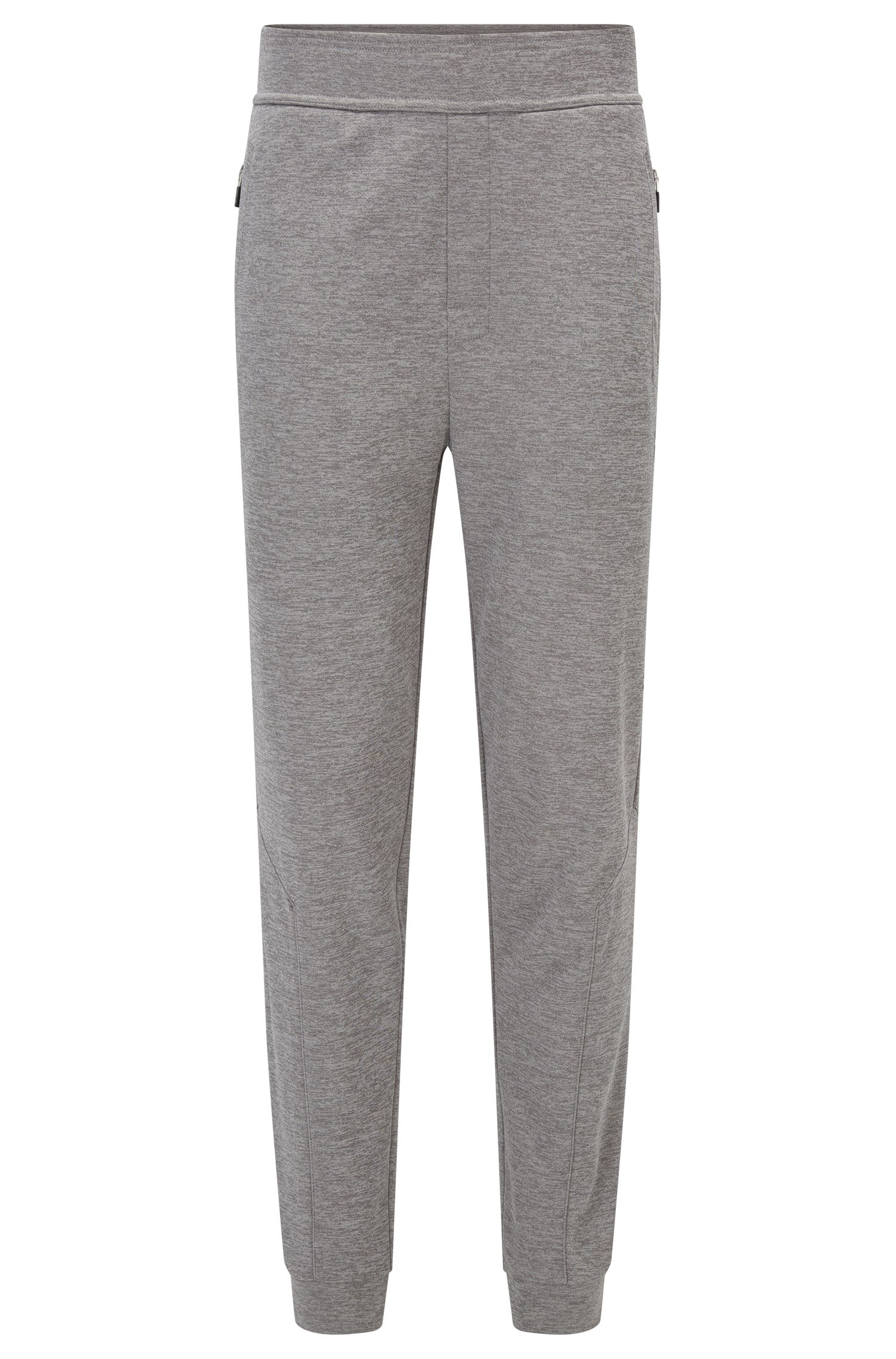 Pantalones loungewear con forro de vellón en tejido técnico