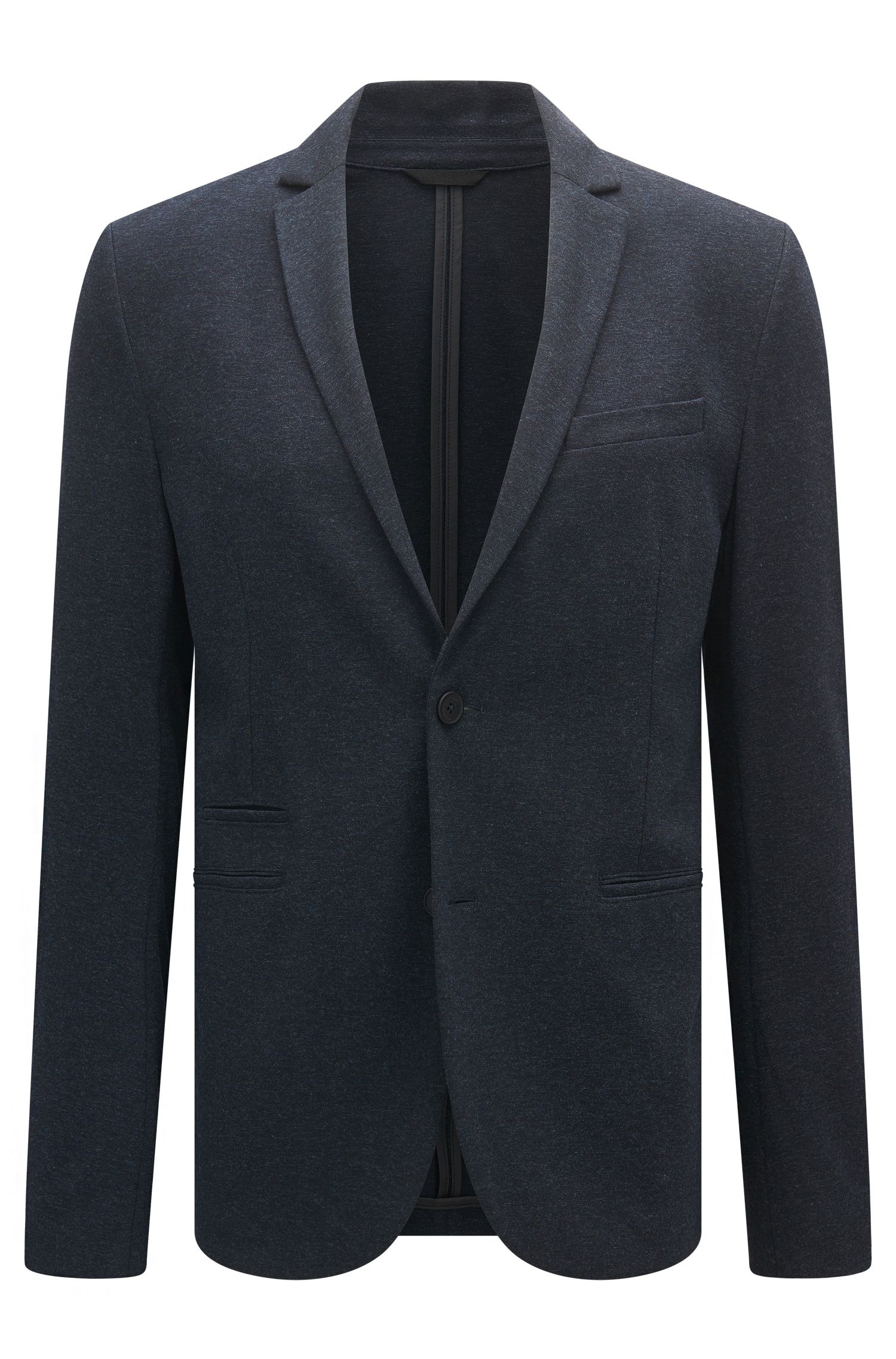 Stretch-fabric jacket in a slim fit
