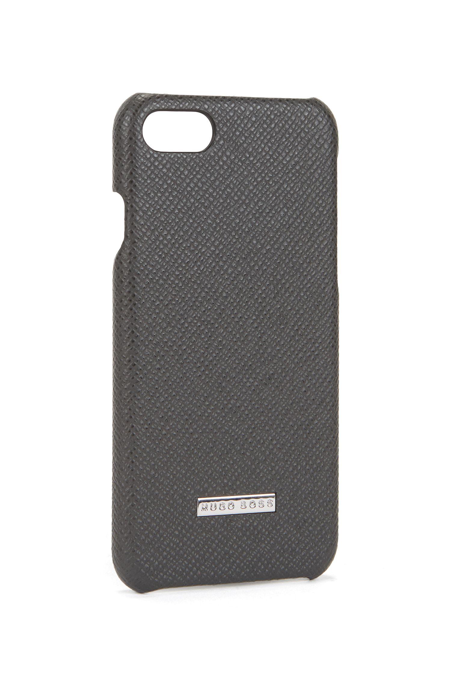 Coque pour smartphone de la collection Signature en cuir palmellato