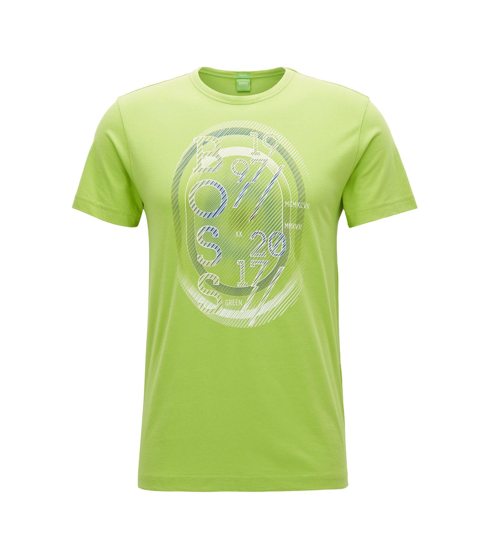 T-shirt regular fit in jersey, Calce