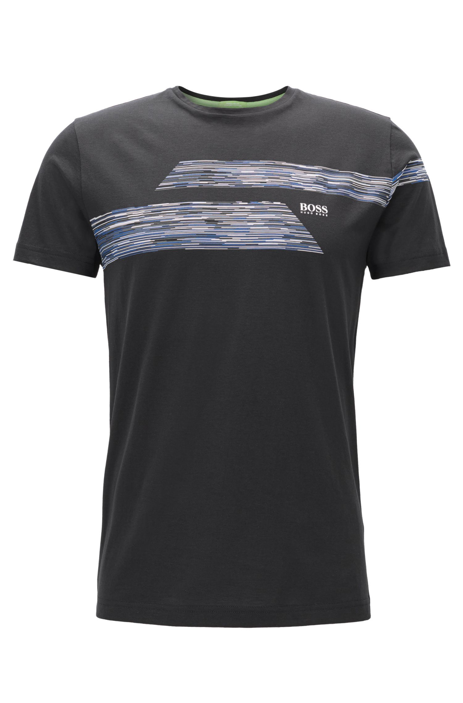 Regular Fit T-Shirt aus Single Jersey