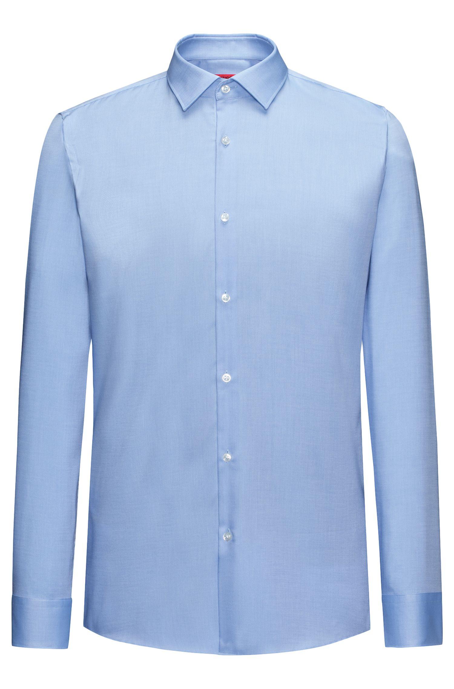 Slim-Fit Hemd aus softer Baumwolle