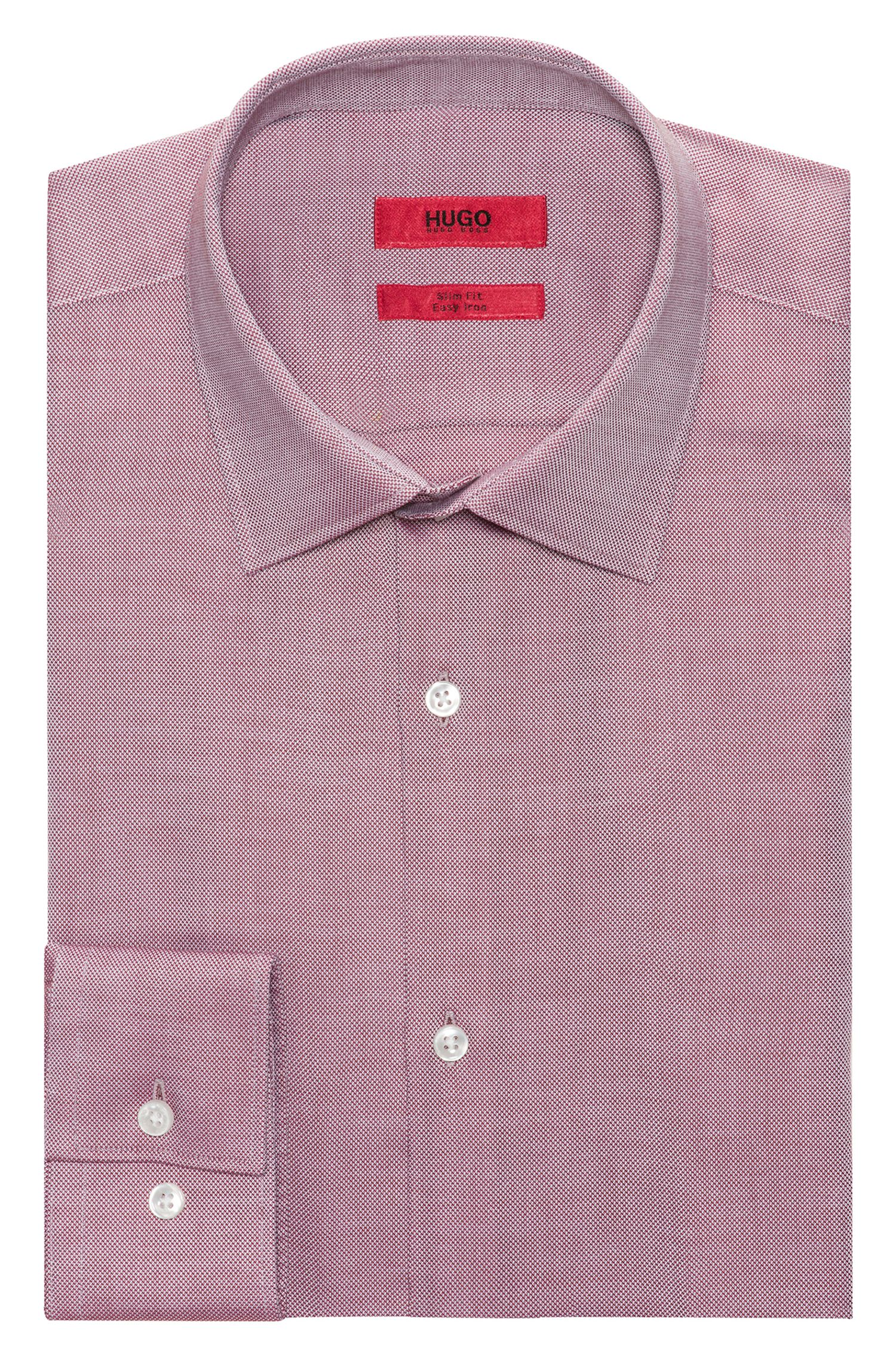 Slim-fit shirt in soft cotton