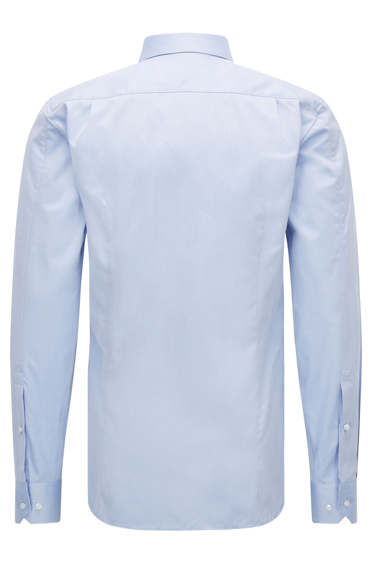 Extra-slim-fit shirt in cotton twill