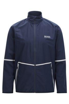 Zip-through jacket in S.Café® fabric , Dark Blue