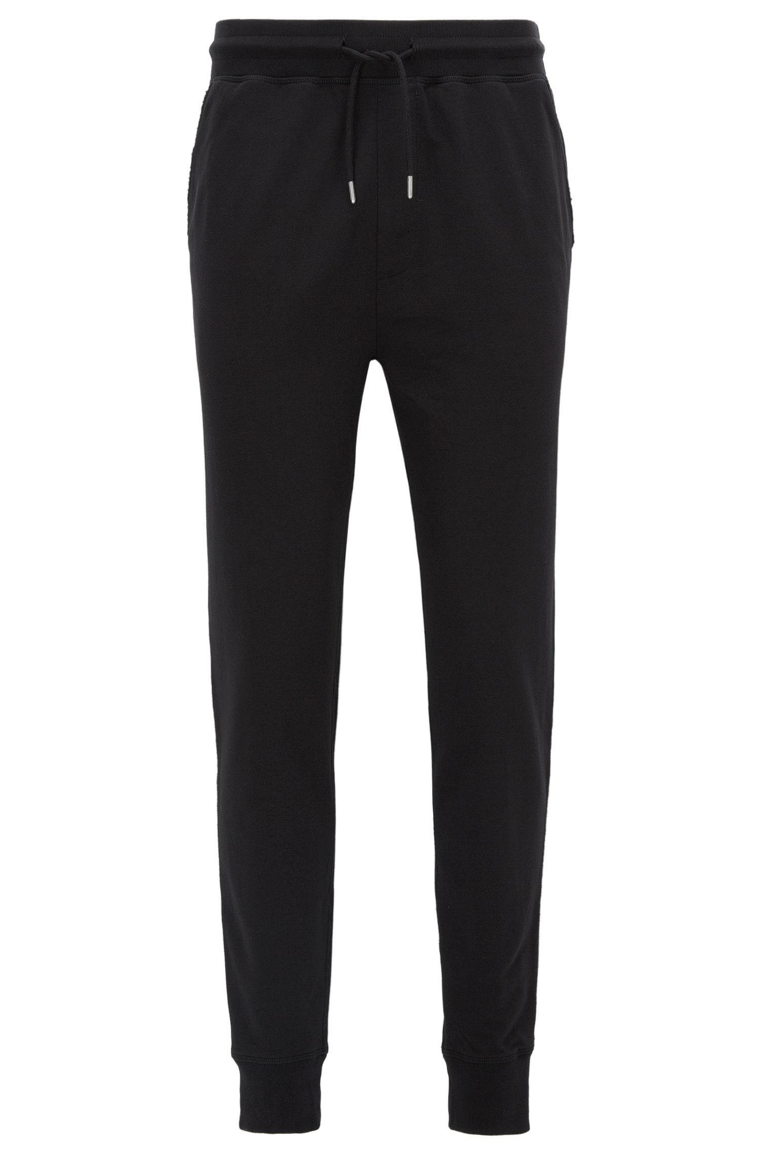 Regular-fit casual trousers in soft jersey