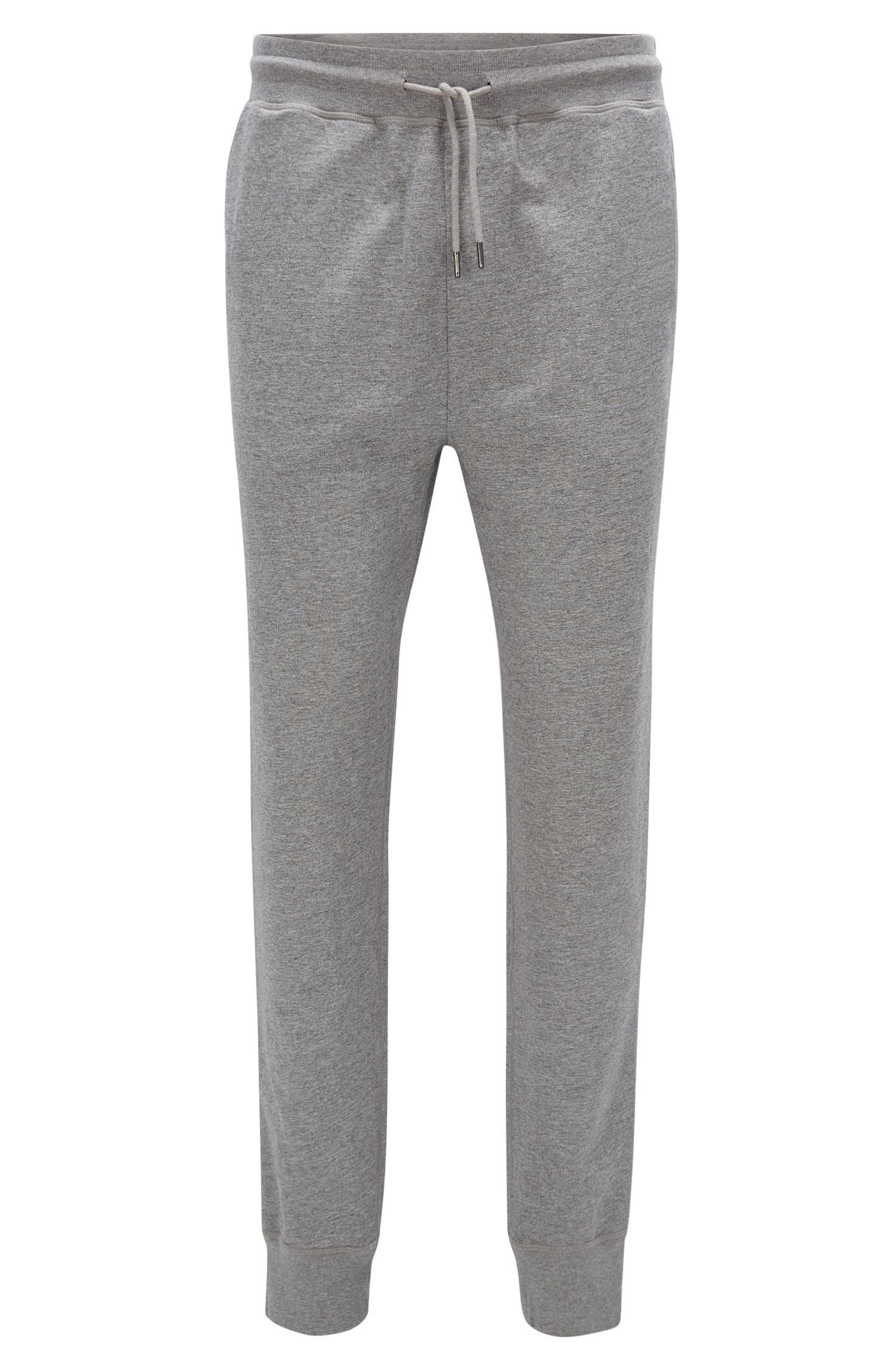 Regular-Fit-Casual-Hose aus softem Baumwoll-Mix