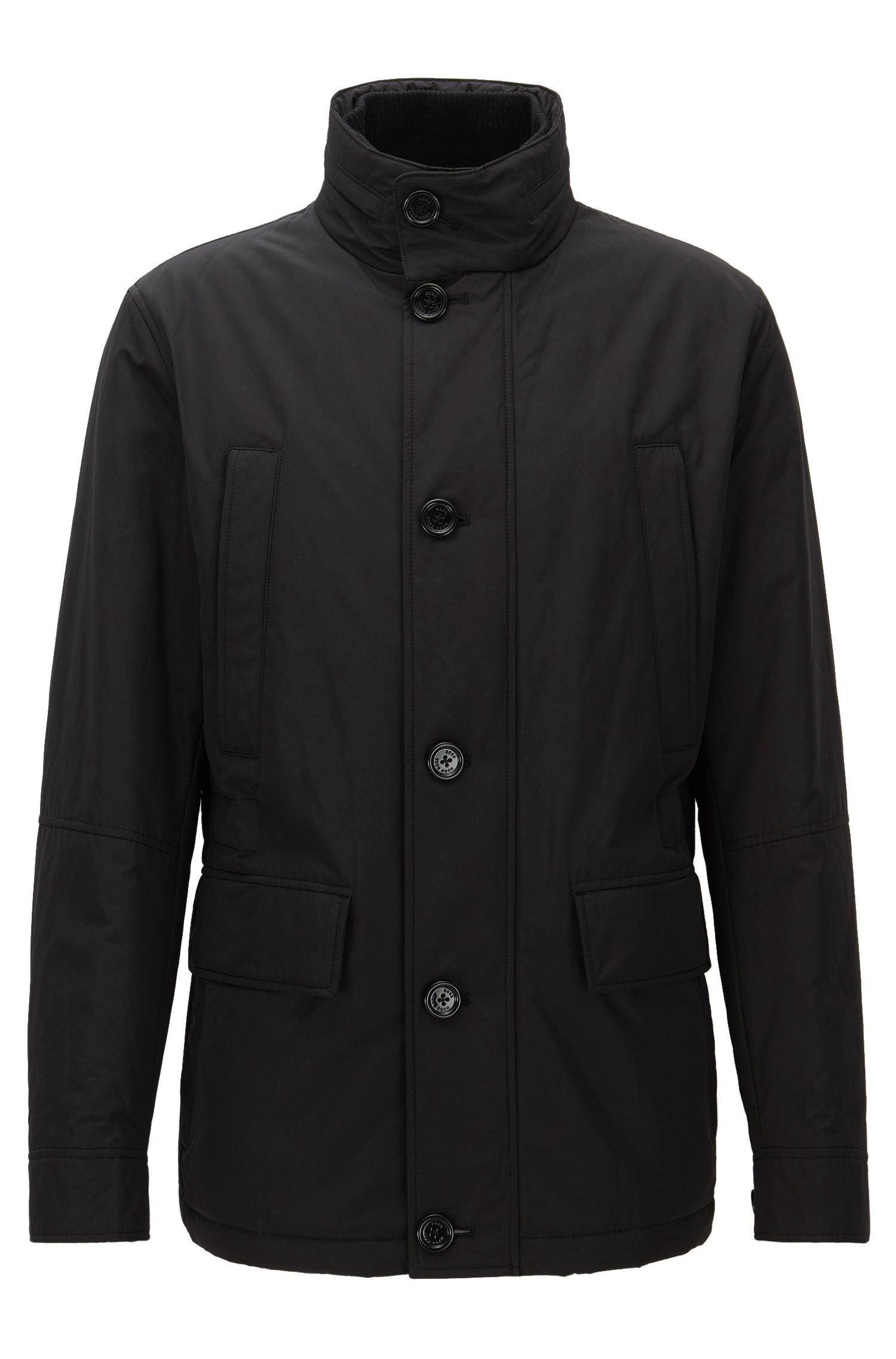 Relaxed-fit water-repellent jacket