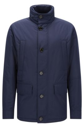 Relaxed-fit water-repellent jacket, Dark Blue