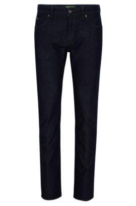Slim-fit jeans van comfortabele stretchdenim, Donkerblauw