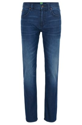 Jeans Regular Fit en denim stretch confortable , Bleu foncé