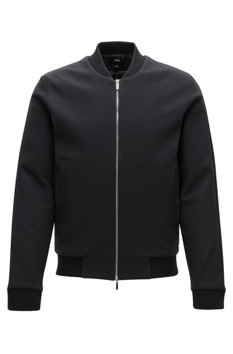 Slim fit mercedes benz jacket in cotton for Mercedes benz jacket