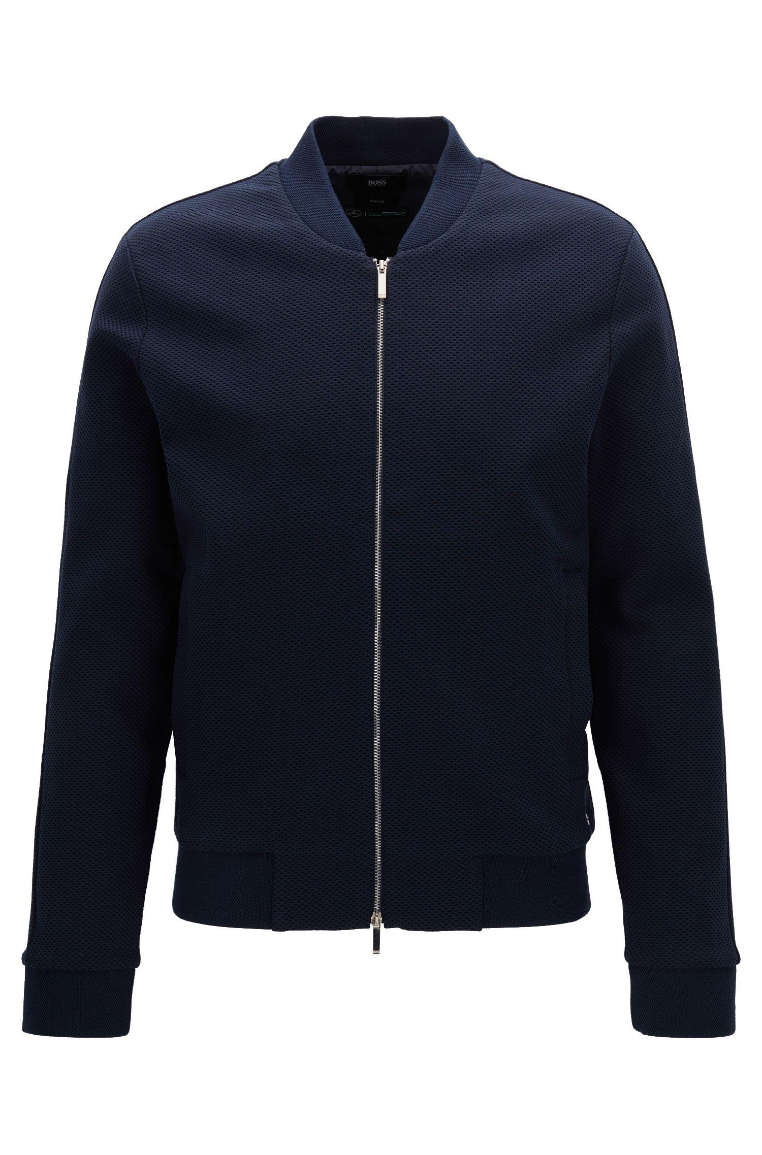 Slim-Fit-Jacke aus Baumwolle aus der Mercedes-Benz Kollektion