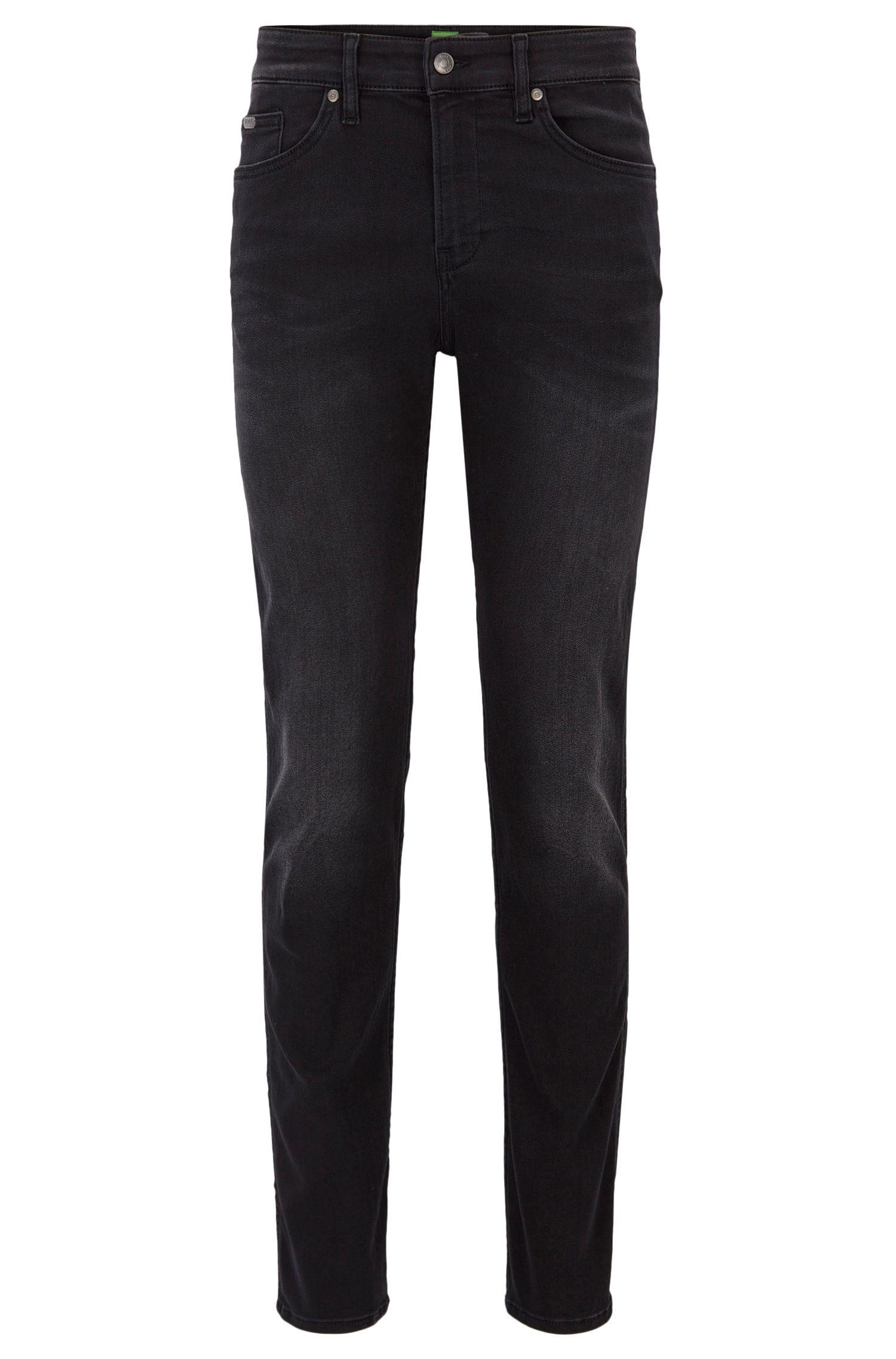 Jeans slim fit in denim super elasticizzato