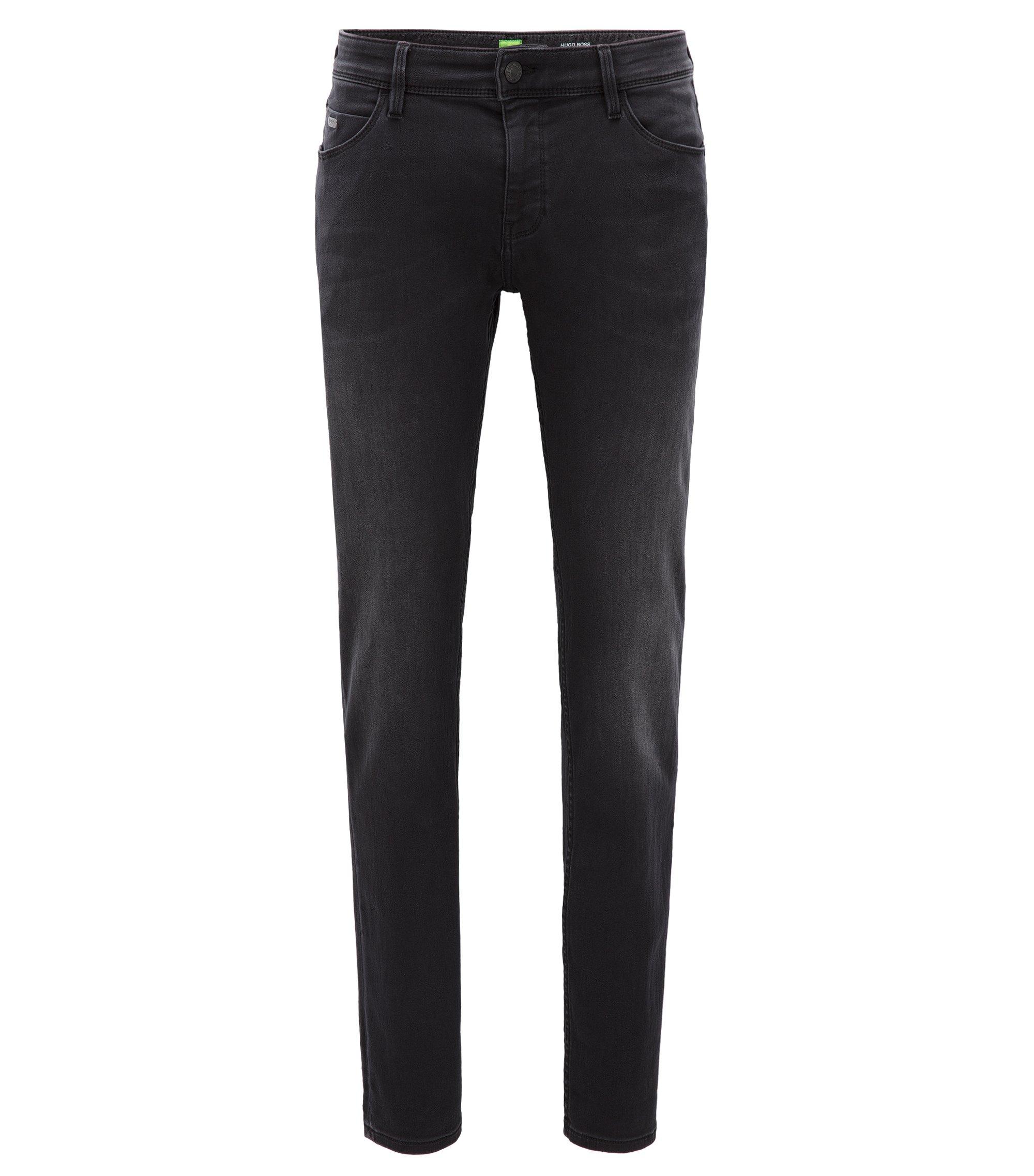 Extra Slim-Fit Jeans aus Stretch-Denim, Schwarz