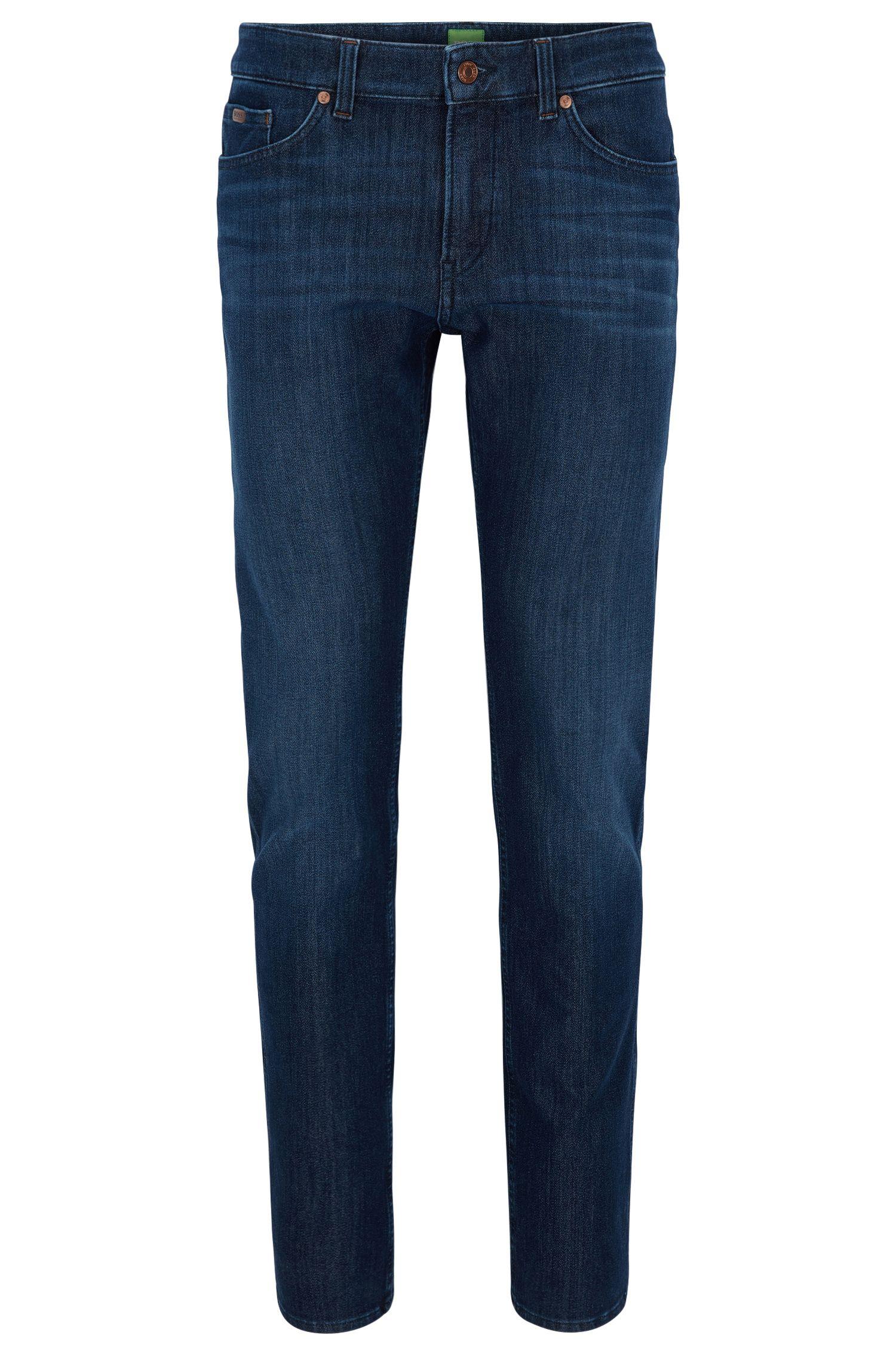 Jeans Slim Fit en denim indigo stretch