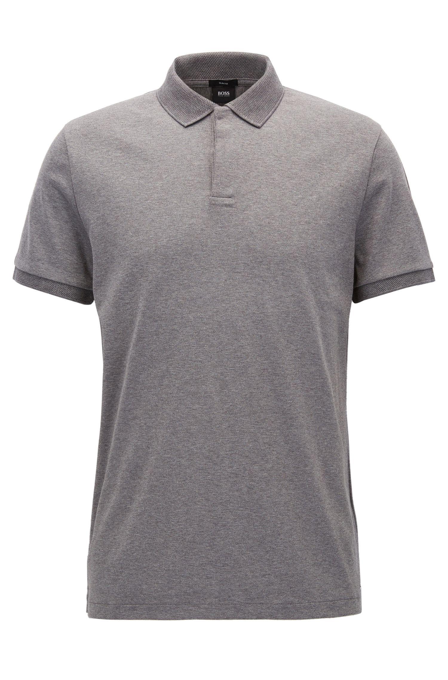 Slim-Fit Poloshirt aus Baumwolle aus der Mercedes-Benz Kollektion