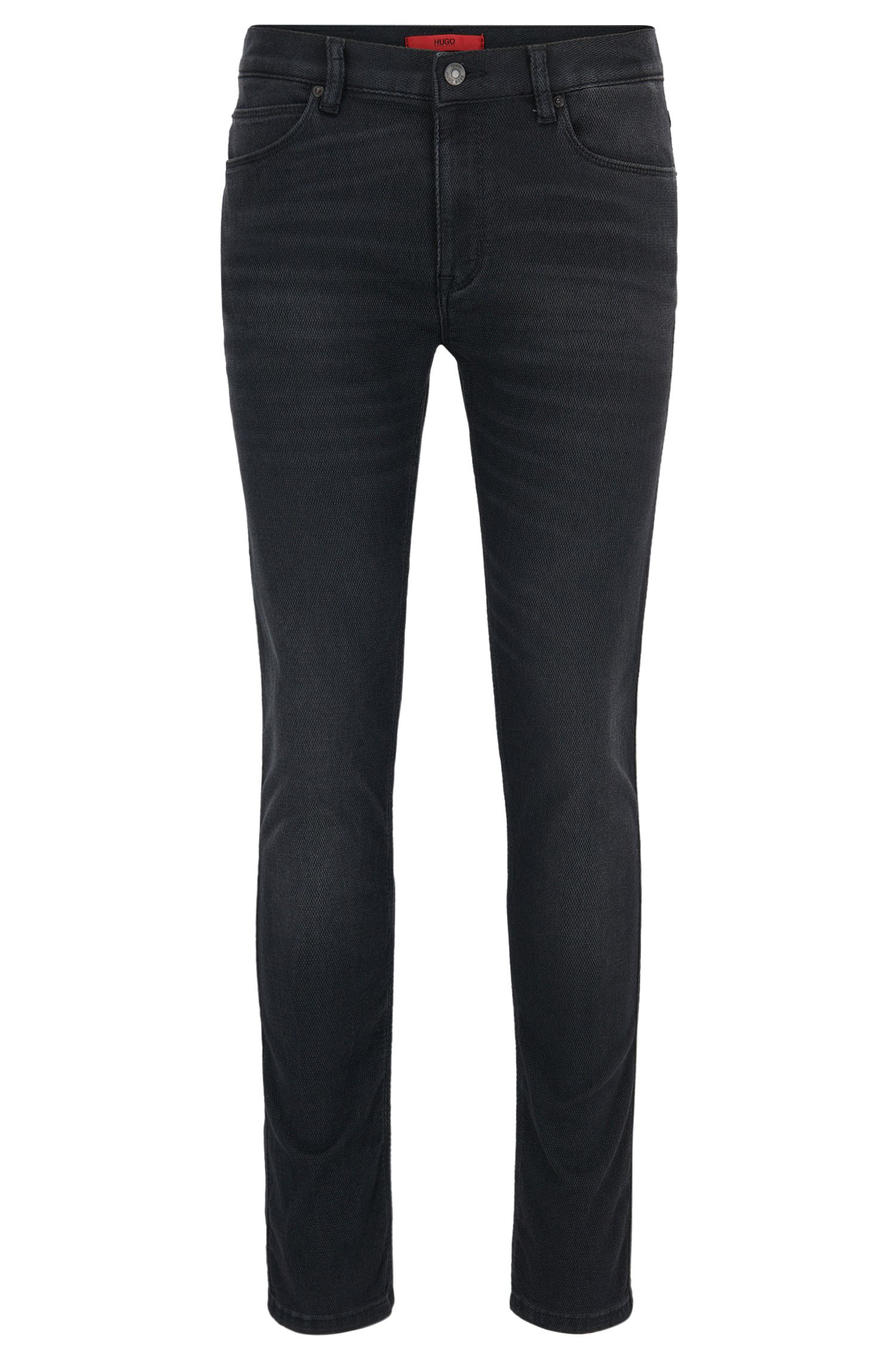 Skinny-fit jeans van super-stretchdenim met Coolmax®