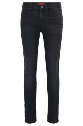 Jeans Skinny Fit en denim super stretch avec la technologie COOLMAX®, Anthracite