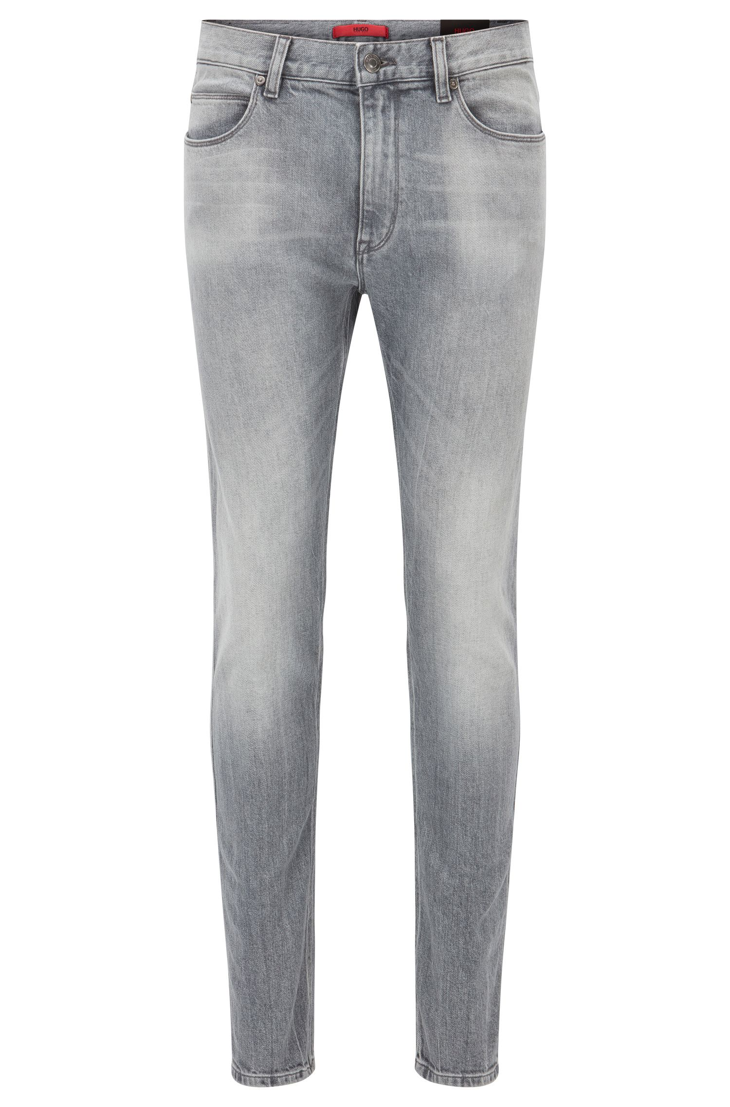 Jeans skinny fit in denim elasticizzato