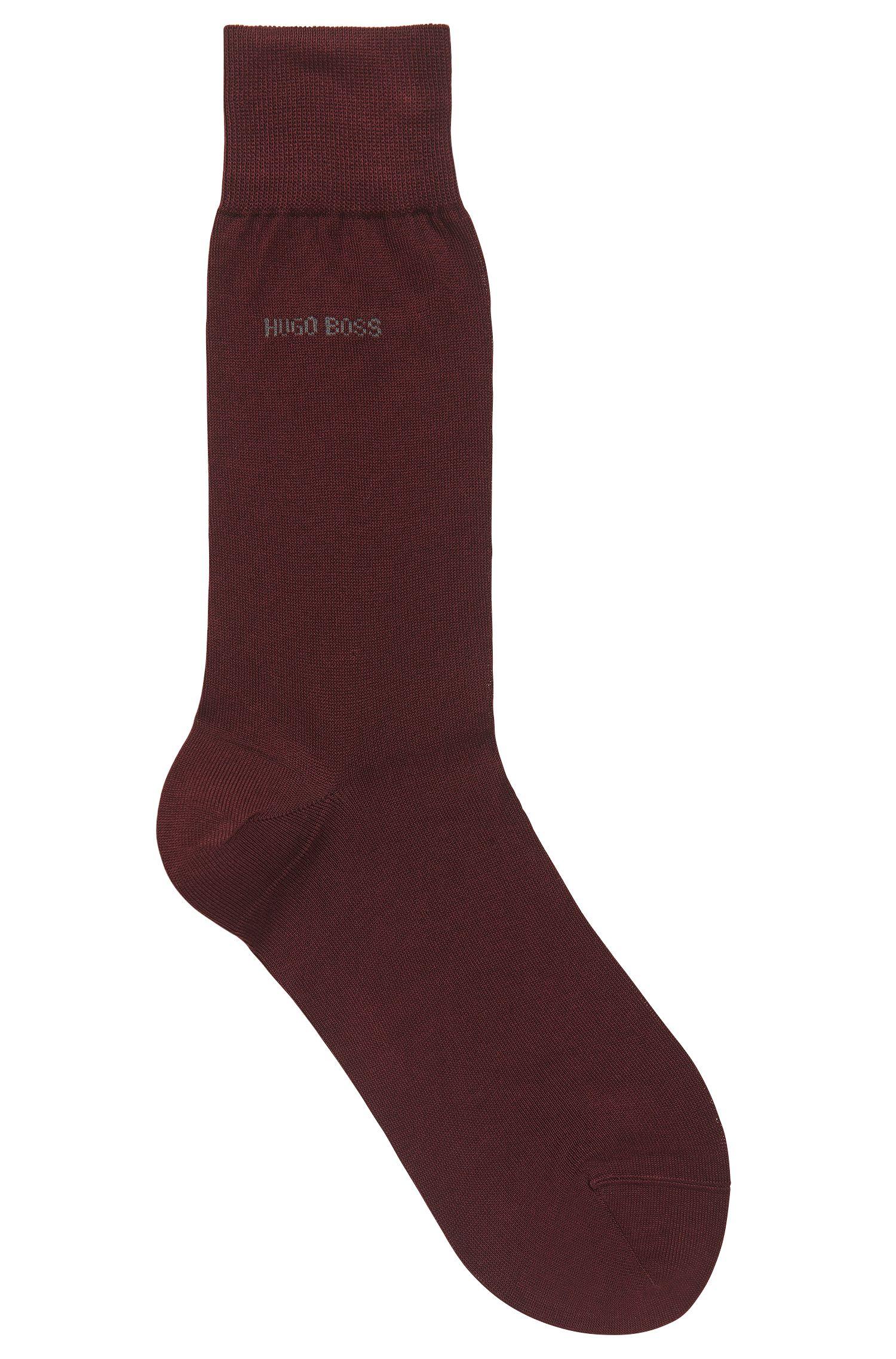 Sokken van gemerceriseerde katoen met normale lengte