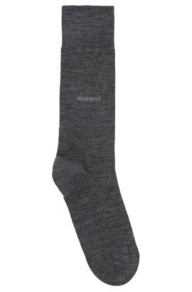 Lightweight socks in a stretch wool blend, Grey