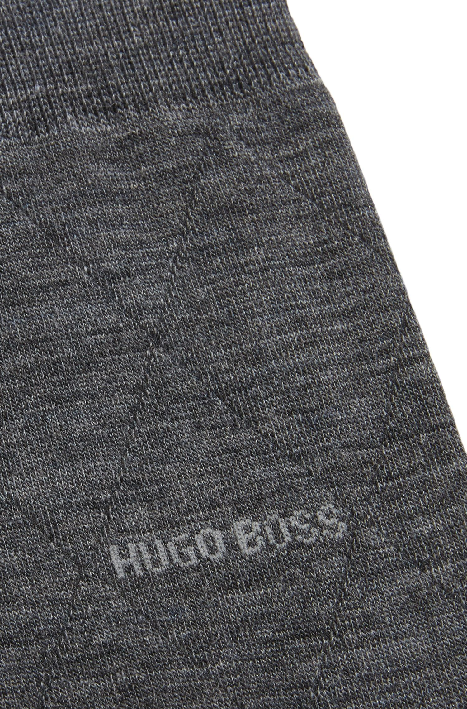 Chaussettes légères en laine mélangée stretch