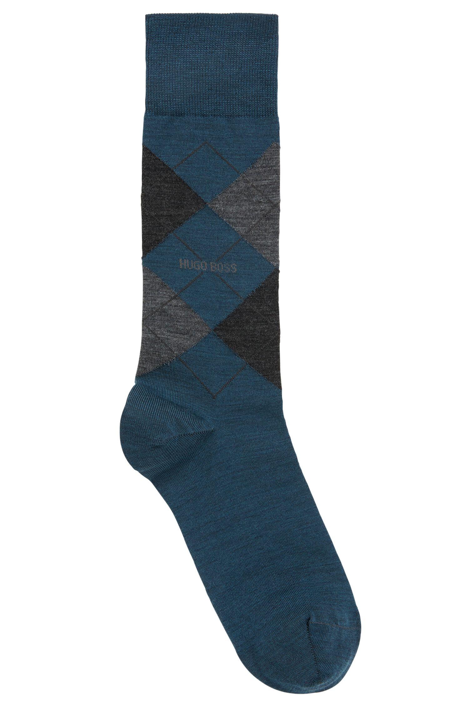 Mittelhohe Socken aus Temperatur regulierendem Woll-Mix mit Baumwolle