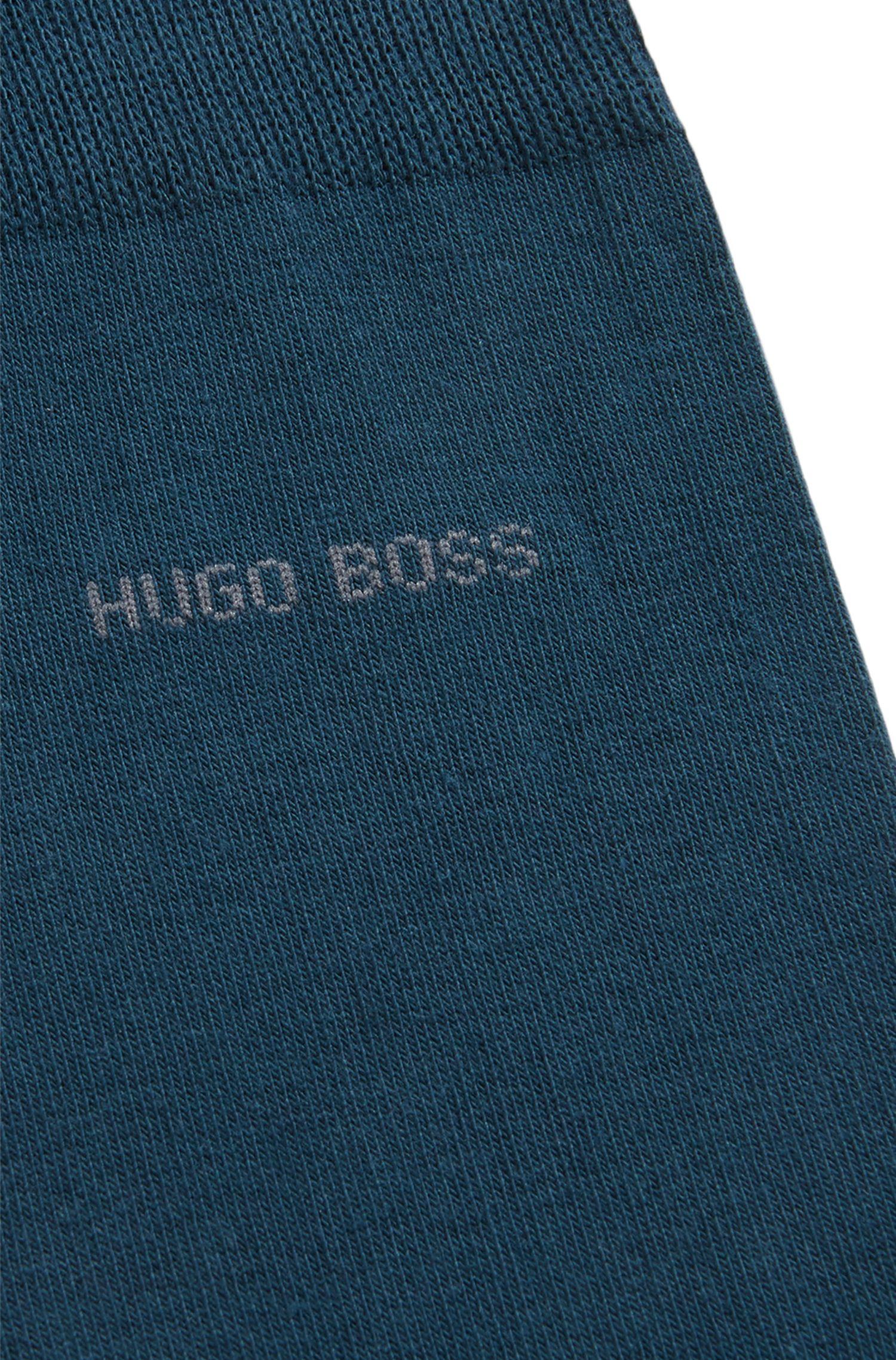 Mittelhohe Socken aus gekämmter Stretch-Baumwolle