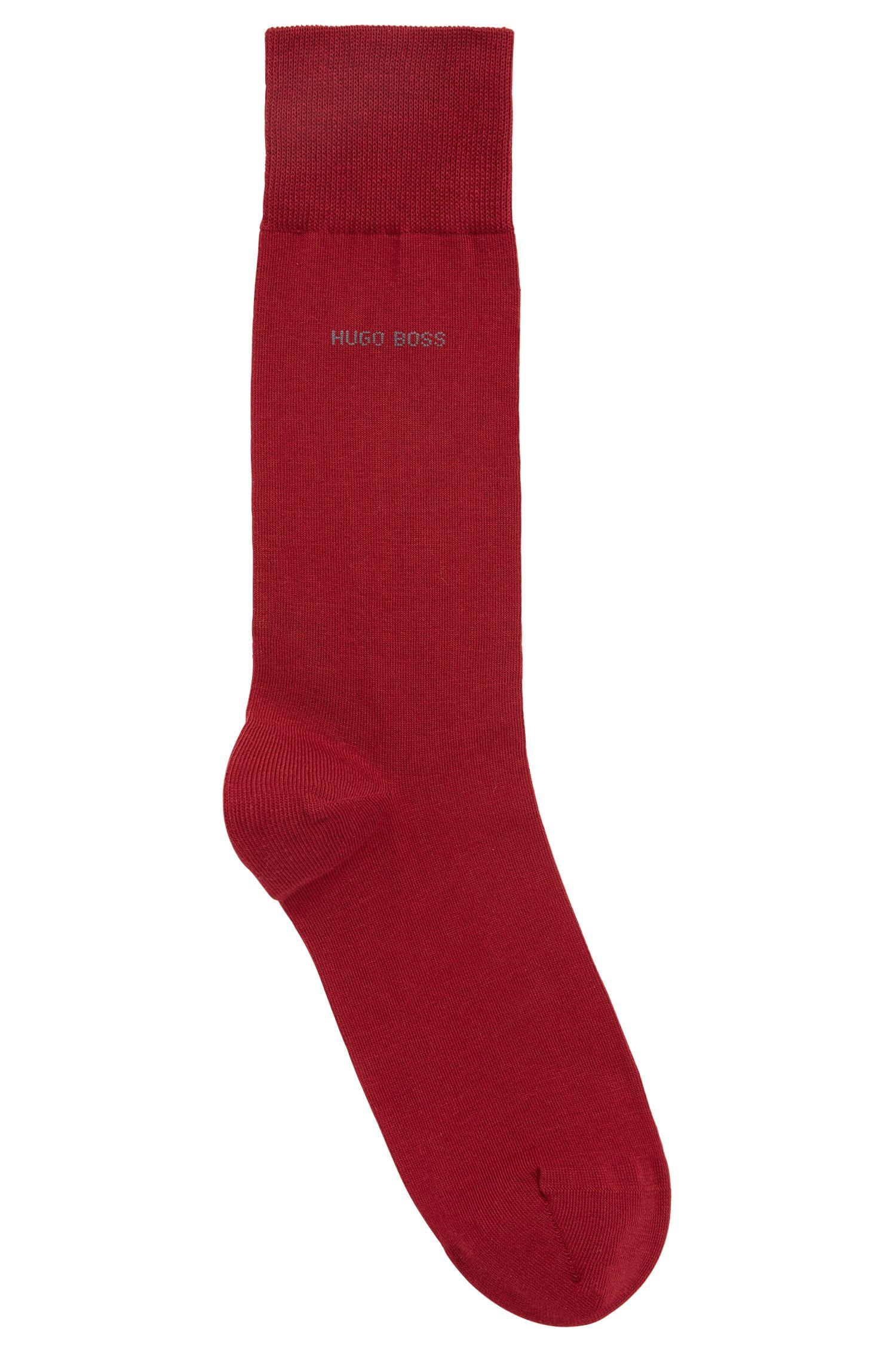 Sokken van gekamd stretchkatoen met normale lengte