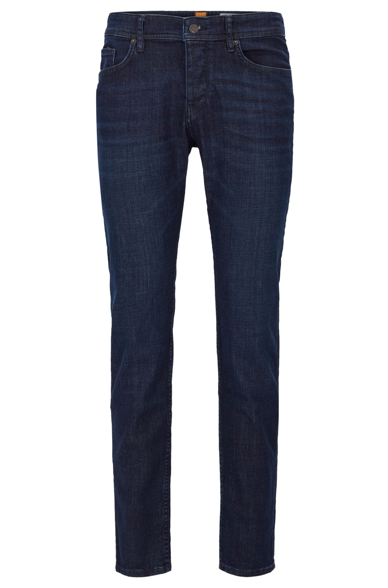 Tapered-fit jeans van 3x1 denimtwill
